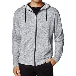 Good Man Brand Gray Lightweight Full Zip Hoodie